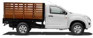 camioneta mudanza